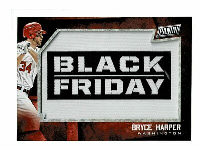2018 Panini Black Friday Bryce Harper Black Friday Patch Relic RW