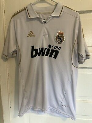 Xabi Alonso 201112 Real Madrid Home Jersey White Adidas 14 Size M Medium A6
