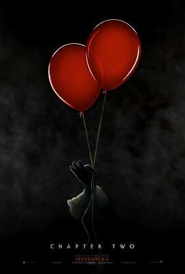 It Chapter Two -2 - original DS movie poster 27x40 DS Adv - 2019 Stephen King