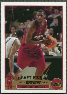 200304 Topps Collection 221 LeBron James Rookie