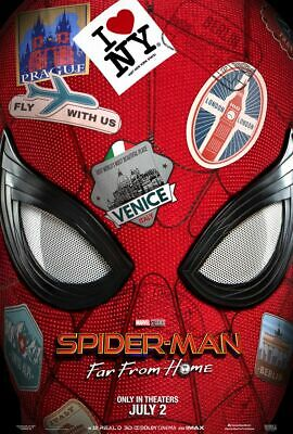 Spider-man Far From Home - original DS movie poster 27x40 DS Advance - 2019