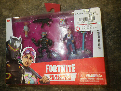Fortnite Battle Royale Collection Duo Pack OMEGA - BRIGHT BOMBER Figures