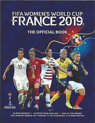 2019 FIFA WOMENS WORLD CUP FRANCE 2019 - THE OFFICIAL BOOK BRAND NEW