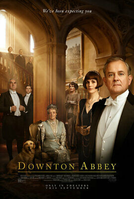 Downtown Abbey - original DS movie poster 27x40 DS