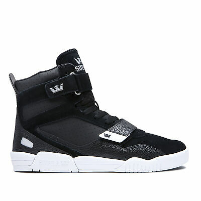 Supra Skateboard Shoes Breaker BlackSilver-White