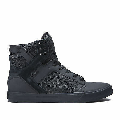 Supra Skateboard Shoes Skytop BlackDark GreyBlack