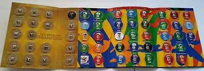 FIFA World Cup 2010 South Africa Magnets Official Album 56 magnets Set New