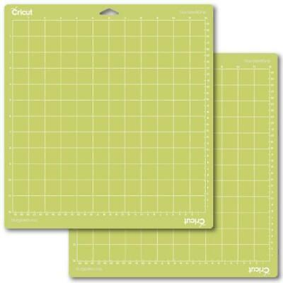 Cricut Tools Accessories Cutting Mat 12x12 Standard Grip Adhesive Set Of 2