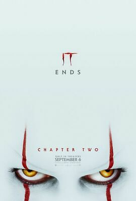 It Chapter Two -2 - original DS movie poster 27x40 DS Adv B - 2019 Stephen King