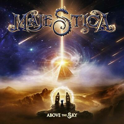 MAJESTICA  Above the Sky  cd digipack