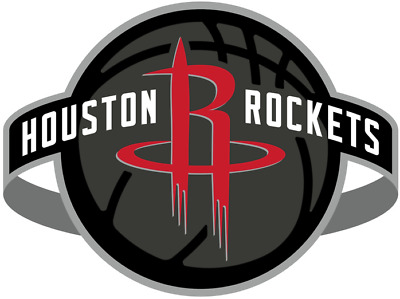 Houston Rockets 4 Inch NBA Color Die-Cut Decal  Sticker Free Shipping