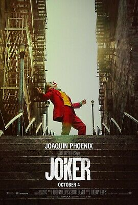 Joker stairs Movie Poster  24 x 36 or  27x 40