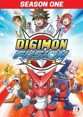 DIGIMON FUSION SEASON 1 ONE New Sealed 6 DVD Set