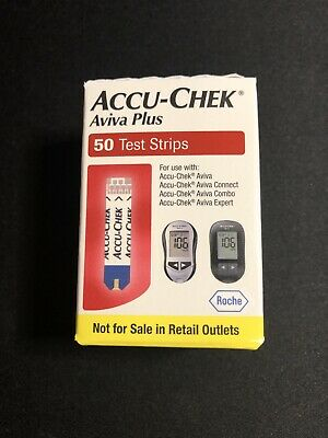 Accu-Chek Aviva Plus Diabetic Test Strips Expire 11302020- Free Shipping