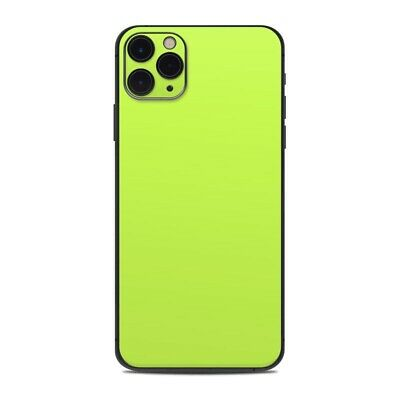 iPhone 11 Pro Max Skin - Solid Lime - Sticker Decal