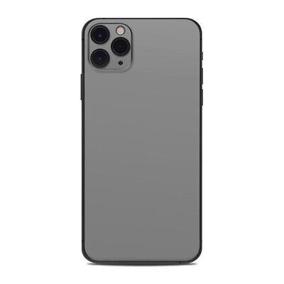 iPhone 11 Pro Max Skin - Solid Grey - Sticker Decal