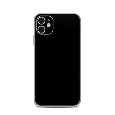 iPhone 11 Skin - Solid Black - Sticker Decal
