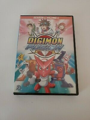Digimon Fusion - Season 1 Volume 1 New DVD 3 - Disc Set