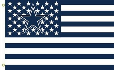 NEW Dallas Cowboys 3x5 Foot Stars and Stripes American Flag -SALE