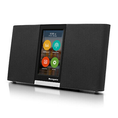 Sungale Next Gen KWS433- Wi-Fi Internet Radio with Easy Touchscreen Interface