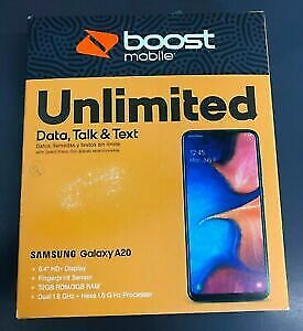 SAMSUNG GALAXY A20 BOOST MOBILE BRAND NEW
