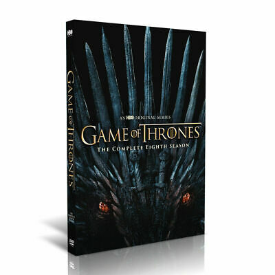 New Game of Thrones Ending Final Season DVD 8 Free Fast USPS First Class Ship