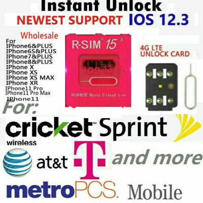 R-SIM15 Nano Unlock RSIM Card for iPhone 11 Pro Max 11 Pro 11 X XR MAX 8 iOS13