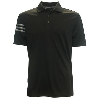 Adidas Golf Mens ClimaCool 3-Stripe Club Polo Shirt  Brand NEW