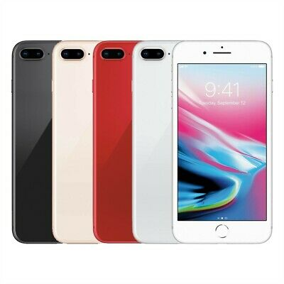 Apple iPhone 8 Plus Smartphone Factory Unlocked 64GB 256GB Gray Gold Red Silver