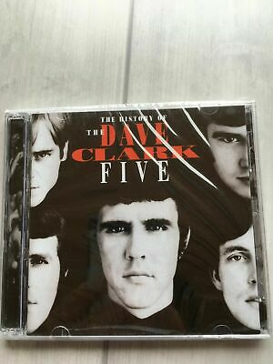 DAVE CLARK FIVE - History of the Dave Clark Five CD Aug-1993 2 Discs