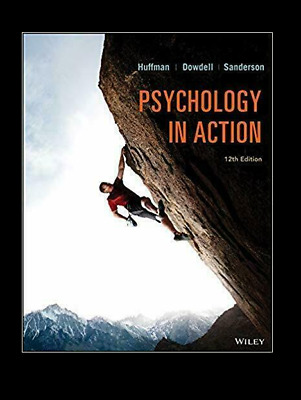 Psychology in Action 12th Edition By Karen Huffman 2019  P-DF