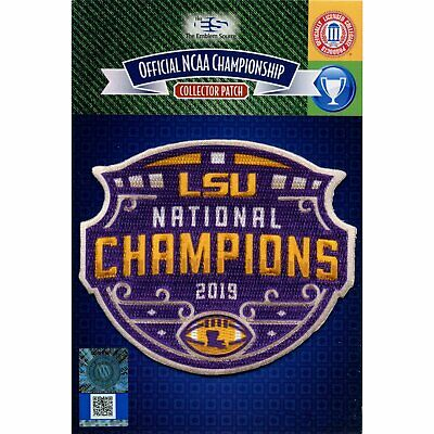 2020 College National Champions LSU Tigers NCAA Football Patch