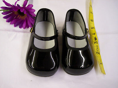 BLACK MARYJANE SHOES  Reproduction  for 36 PATTI  PATTY PLAYPAL