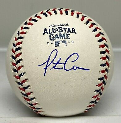 Pete Alonso Signed 2019 All Star Game Baseball FANATICS Hologram AUTO NY Mets