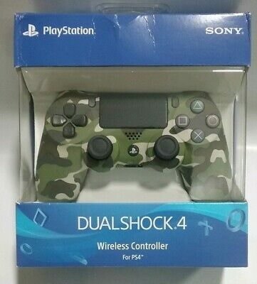 Sony Playstation 4  Dualshock Controller Green Camouflage