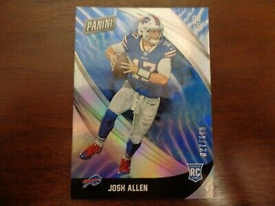 2018 Panini Black Friday Josh Allen ed 27199 ROOKIE CARD-Bills