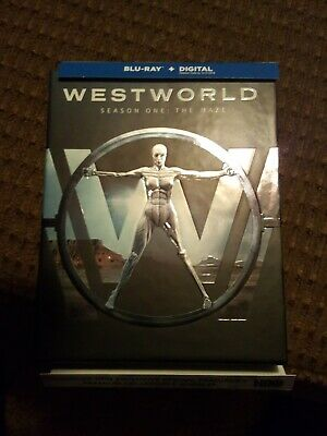 Westworld The Complete First Season Blu-ray Disc 2017Digital Code Used