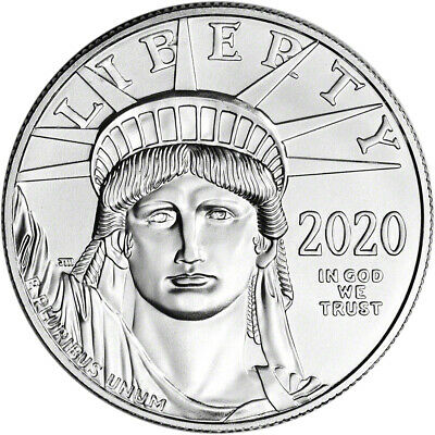 2020 American Platinum Eagle 1 oz 100 - BU