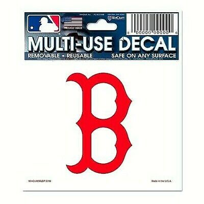 Boston Red Sox MLB Static Cling Decal  Ultra Decal Sticker Free Shipping
