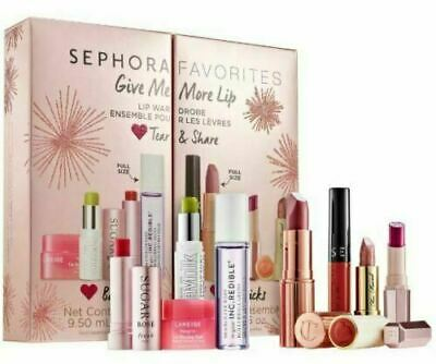 Sephora Favorites Give Me More Lip Limited Edition 90 Value  New in box