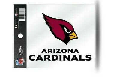 Arizona Cardinals NFL Static Cling Decal  Ultra Decal Sticker Free Shipping