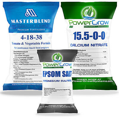 MASTERBLEND 4-18-38 Fertilizer Official MASTER BLEND ® COMBO KIT 2-5 Pounds