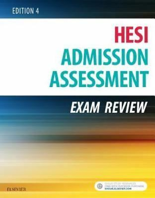 BRAND NEW Admission Assessment Exam Review 4th Edition 9780323353786