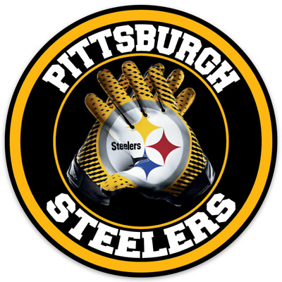 Pittsburgh Steelers 4 Inch NFL Color Die-Cut Decal  Sticker Free Shipping