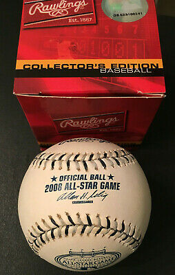 Official 2008 MLB All Star Game baseball- New in Box- Yankee Stadium