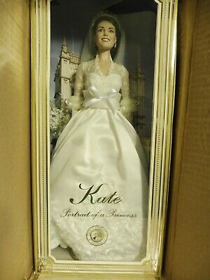 KATE MIDDLETON  Portrait of a Princess    Franklin Mint  Limited Edition  Doll
