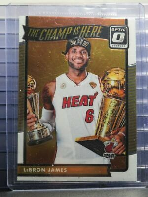 2016-17 Donruss Optic LeBron James The Champ Is Here No- 1 Heat AG