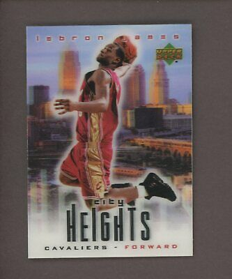 2003-04 Upper Deck City Heights LeBron James Cleveland Cavaliers RC Rookie