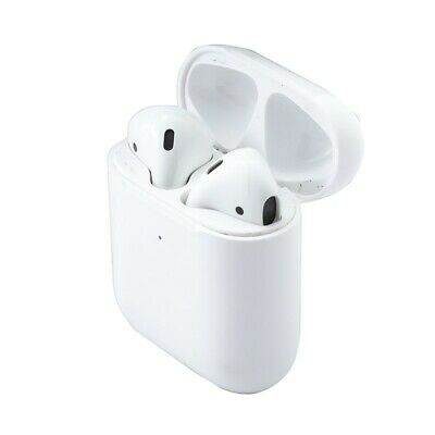 Apple AirPods 2nd Generation with Wireless Charging Case - White new