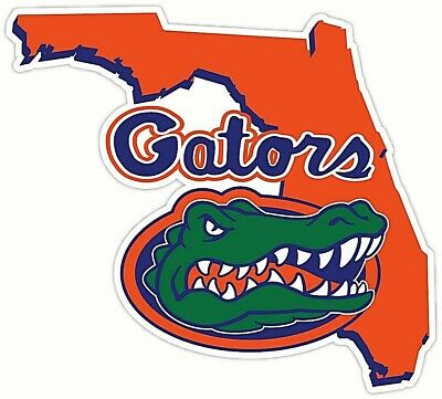 Florida Gators 4 Inch NCAA Color Die-Cut Decal  Sticker Free Shipping